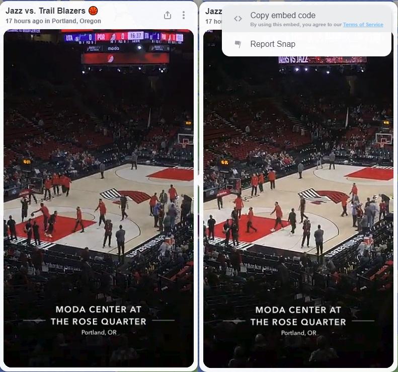Snapchat hace que el mapa de ajuste esté disponible en la Web, con opciones para incrustar historias Contenido | Social Media Today