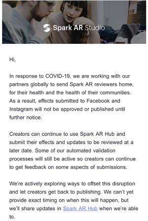 Spark AR announcement