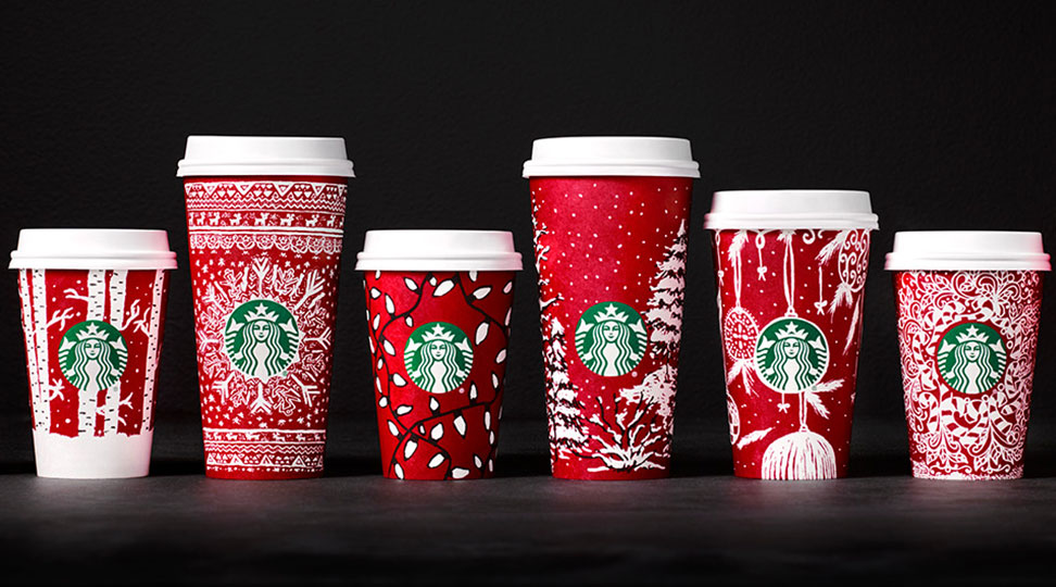 Starbucks Christmas cups