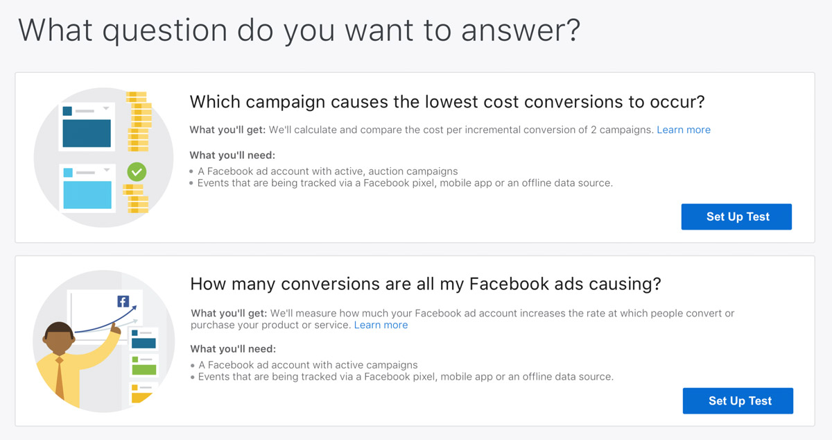 Facebook Adds Split Testing, Improved Ad Analysis Options Within Ads Manager | Social Media Today