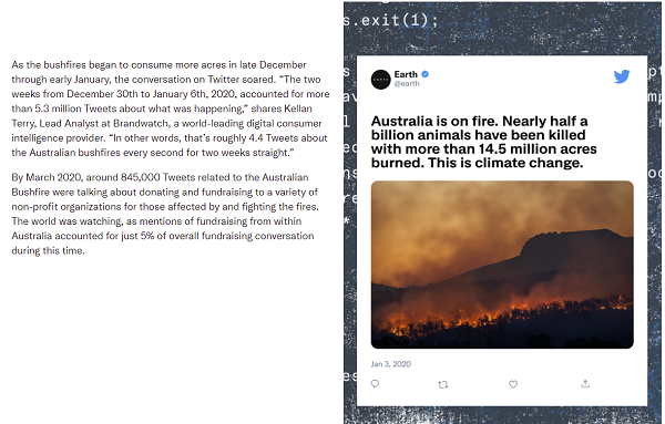 Twitter climate change research