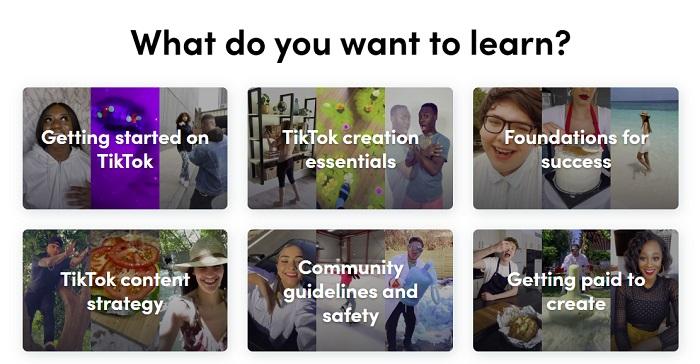 Портал для создателей TikTok