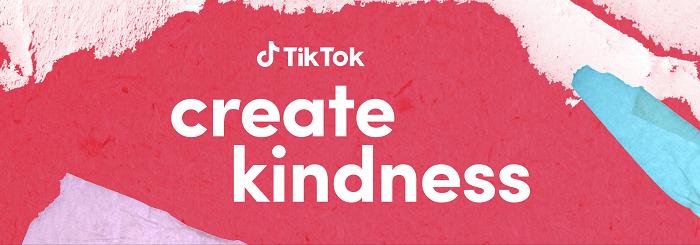 TikTok #CreateKindness