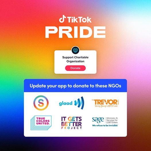 TikTok Pride