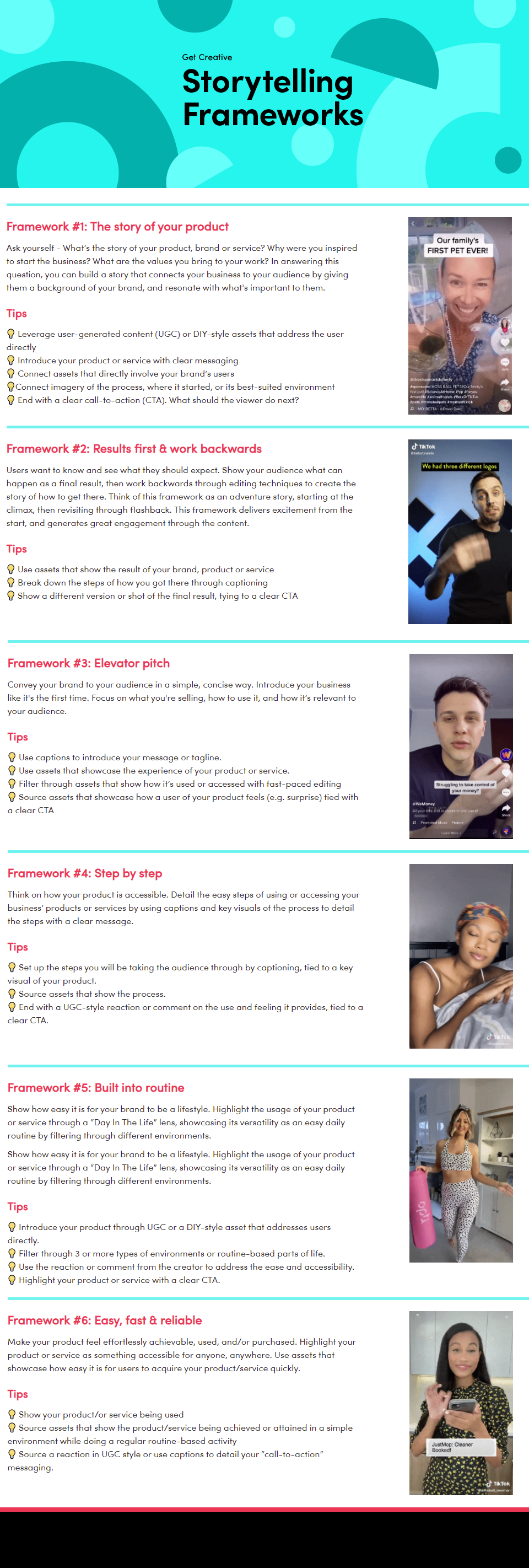 TikTok Ad Creative tips