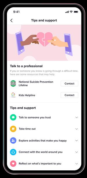 TikTok help platform