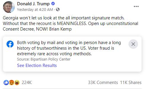 Exemple de Trump