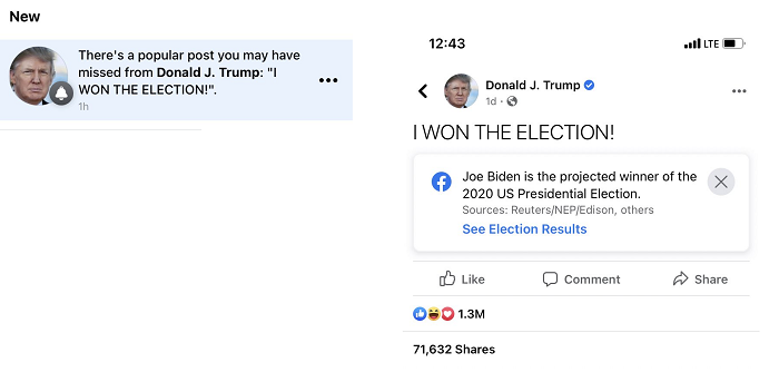 Trump example