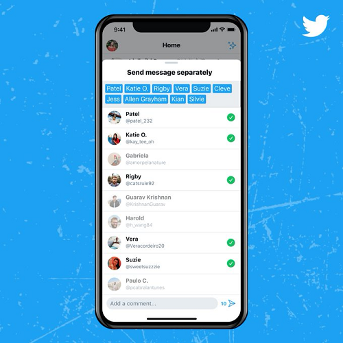 Twitter DM update