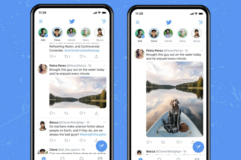 Twitter image display