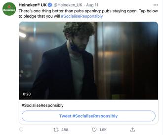 Twitter Heineken example