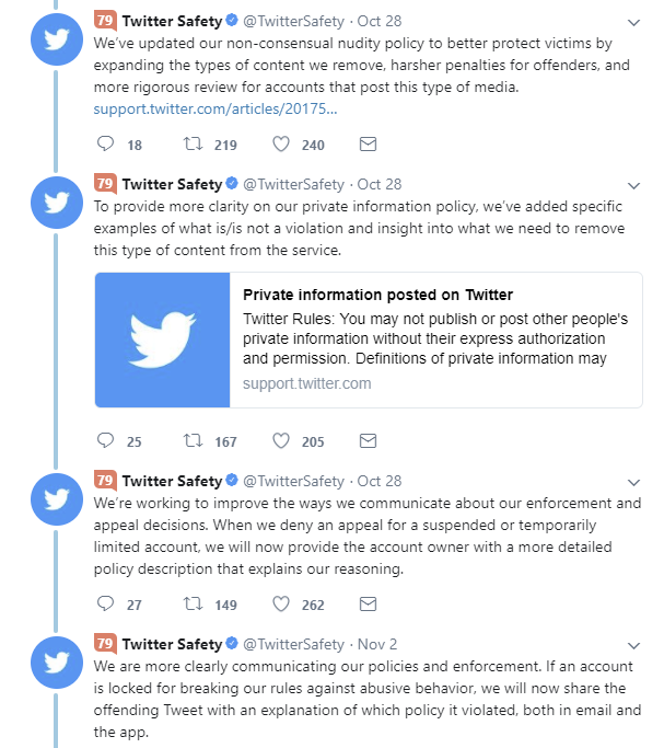 Twitter Has Confirmed it is Testing a Tweetstorm Feature, Has Expanded Testing | Social Media Today
