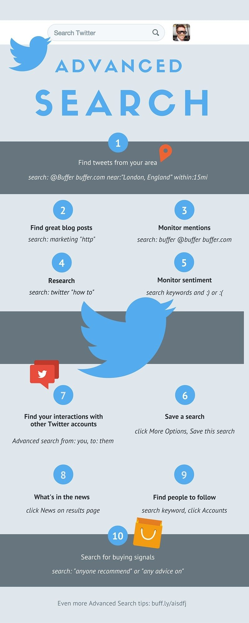 10 Powerful Twitter Advanced Search Features [Infographic]                      | Social Media Today