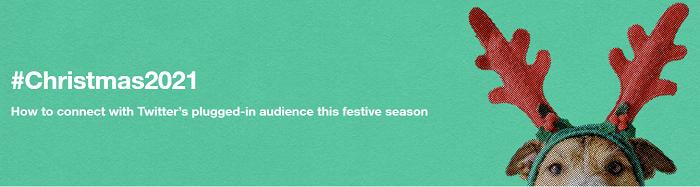 Twitter Christmas mini-site