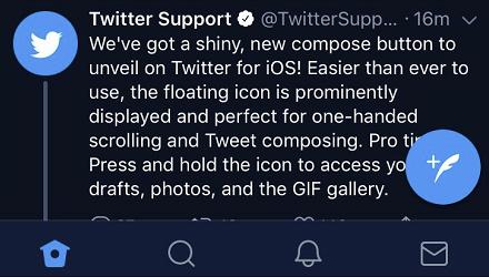 Twitter composer update