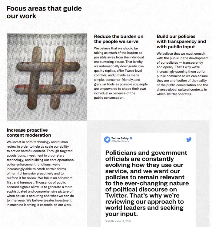 Отчет о социальном воздействии Twitter