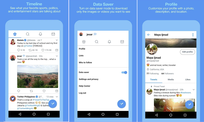 Twitter's Expanding its Low Data Usage 'Twitter Lite' Version into More Regions | Social Media Today