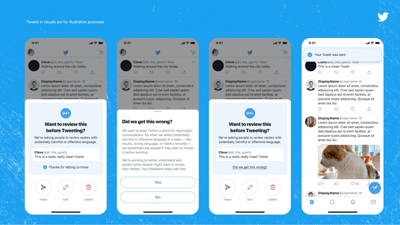 Twitter offensive comment alerts