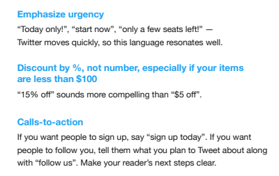 Twitter Agency Playbook example