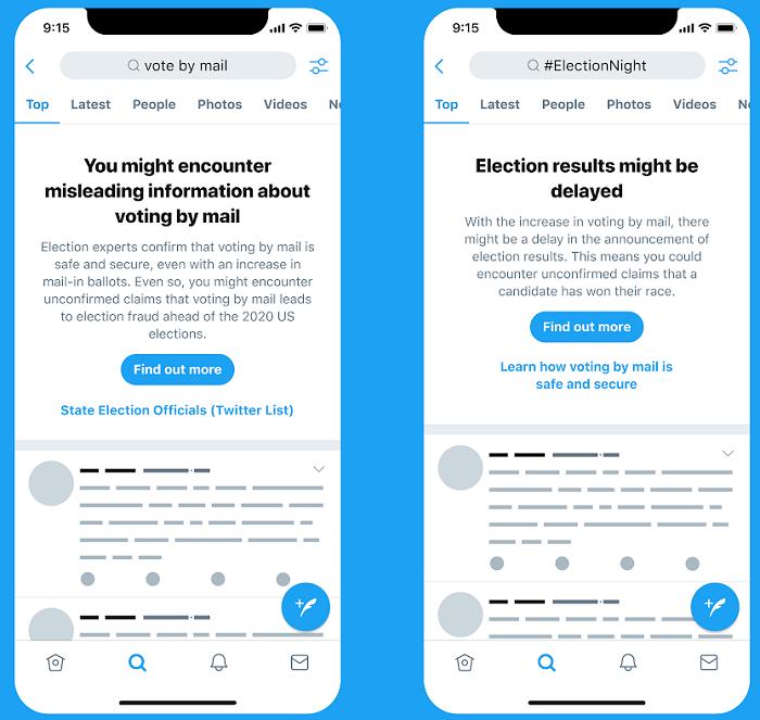 Twitter preemptive prompts