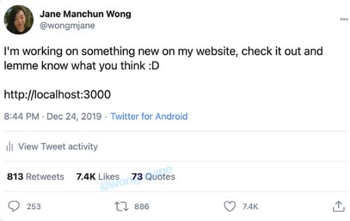 Quote tweets count
