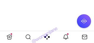 Twitter Spaces tab
