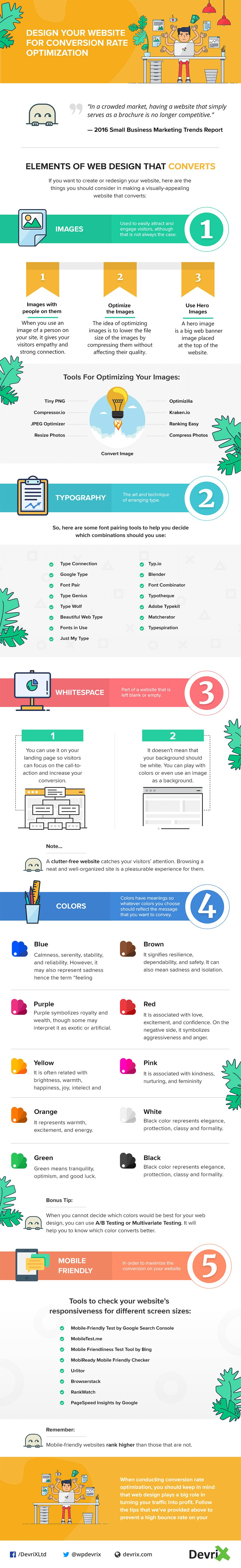 5 Website Elements You Must Optimise to Increase Your Conversion Rate [Infographic] | Social Media Today