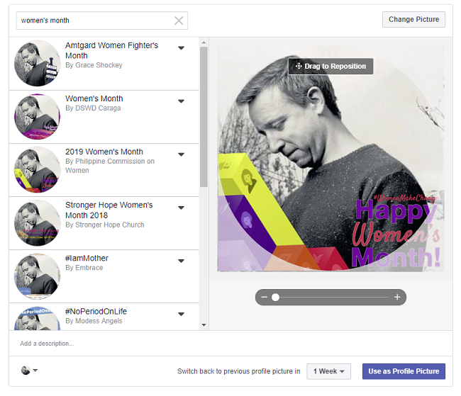 Facebook Profile Frame Gallery