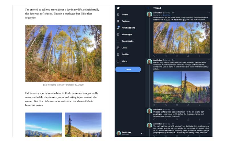 WordPress Twitter connection
