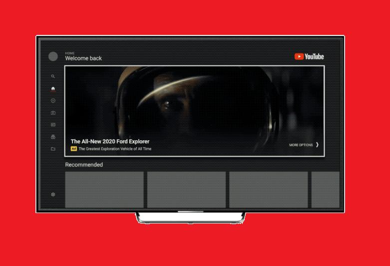 Объявления masthead на YouTube