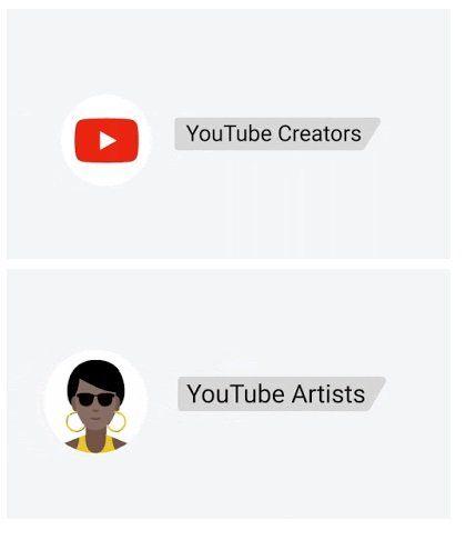 YouTube verified channels