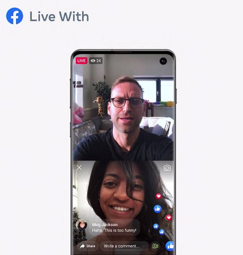 Facebook Live guests