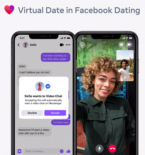 Facebook Dating video